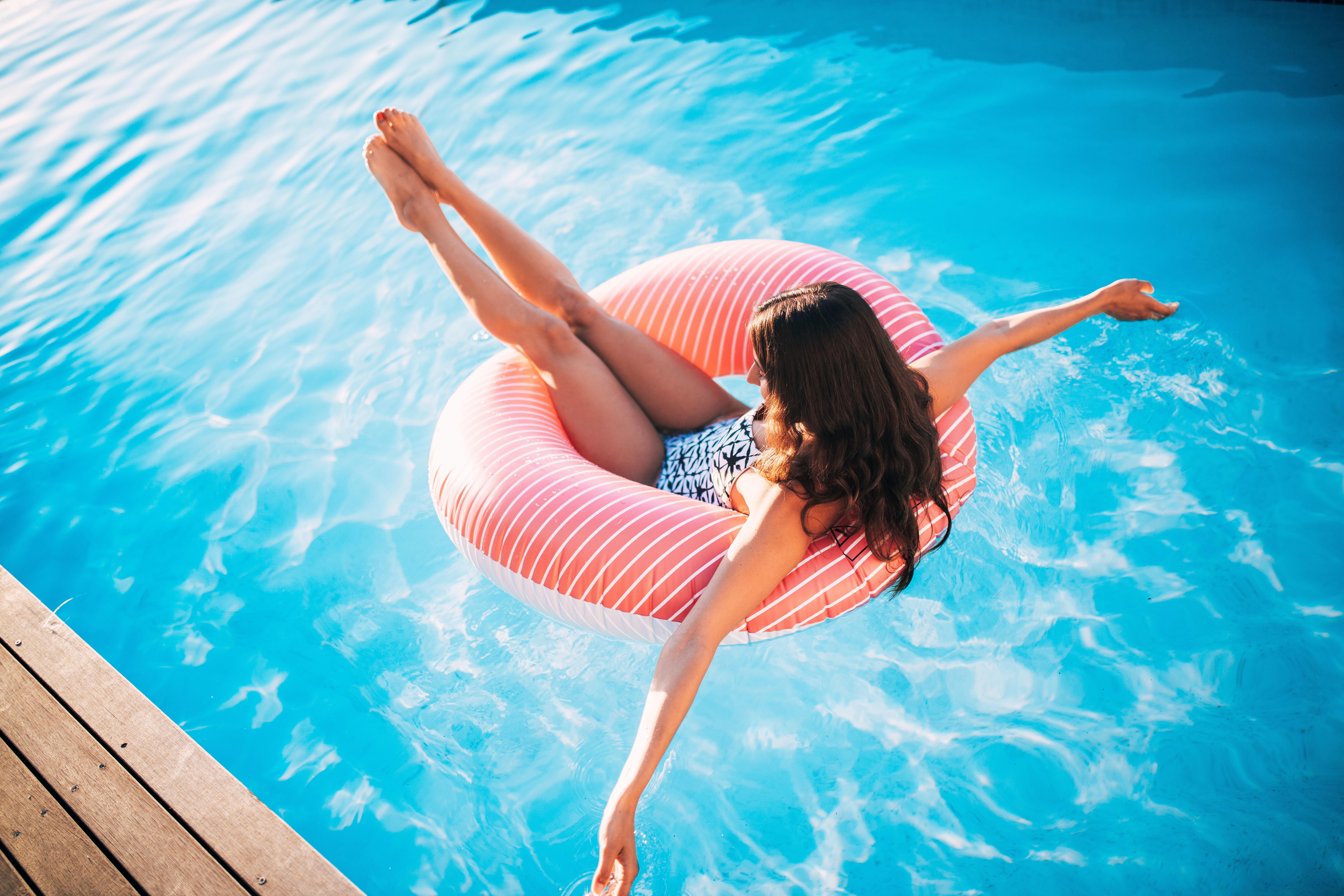pink-swimming-water-summer-girl-pool-bikini-swim-ring-inflatable ...